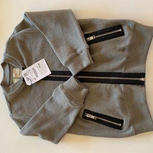 Zara Boys Zippered Sweater